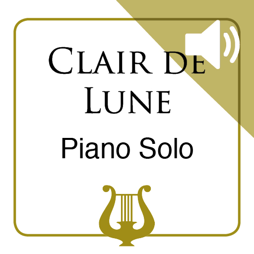 Clair de Lune by C. Debussy - Piano Solo MP3 included (iPad Edition)