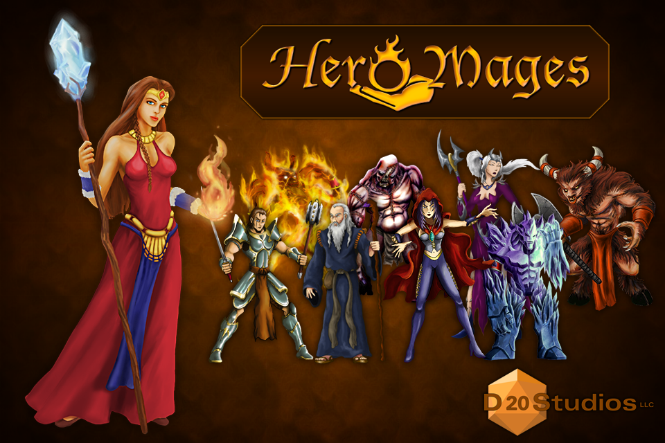 Free Hero Mages iPhone Game