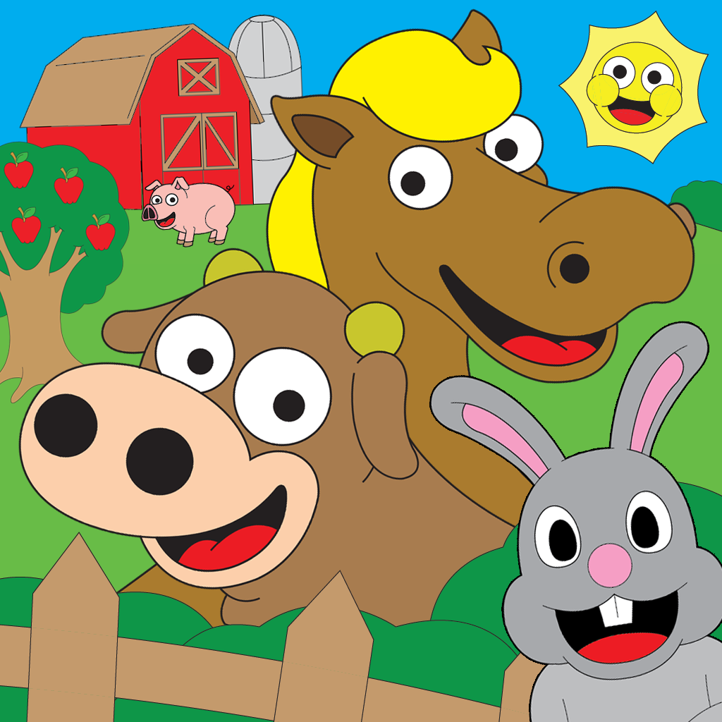 Coloring Farm Touch To Color Activity Coloring Book For Kids and Family Preschool Ultimate Edition